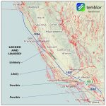 San Andreas Fault On Us Map Socal Fault Map Beautiful Map San   Map Of The San Andreas Fault In Southern California