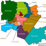 San Antonio District Kaart   Kaart Van San Antonio District (Texas   Lackland Texas Map