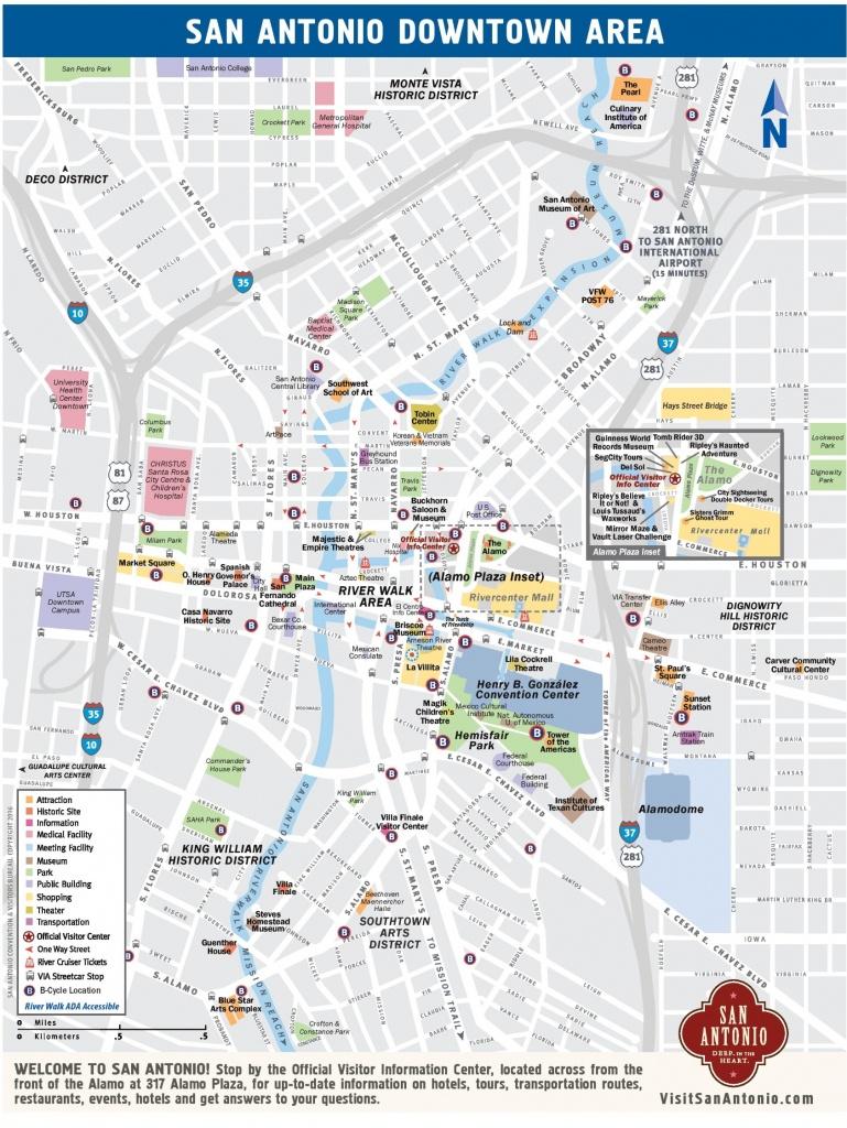 San Antonio Maps   Texas, U.s.   Maps Of San Antonio - Map Of Hotels In San Antonio Texas