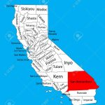 San Bernardino County (California, United States Of America   San Bernardino California Map