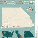 San Bernardino County Map In California. Stock Vector   Illustration   San Bernardino California Map
