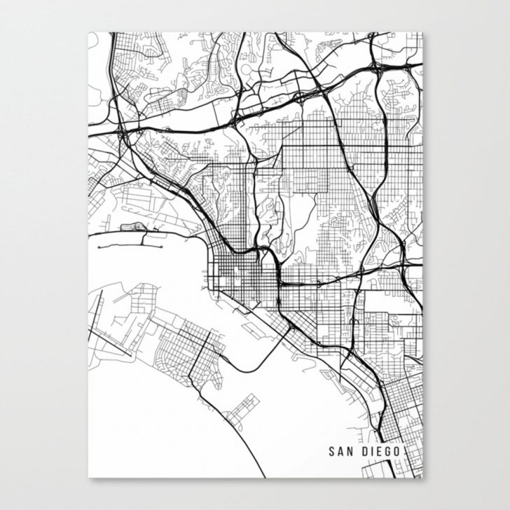 California Map Black And White