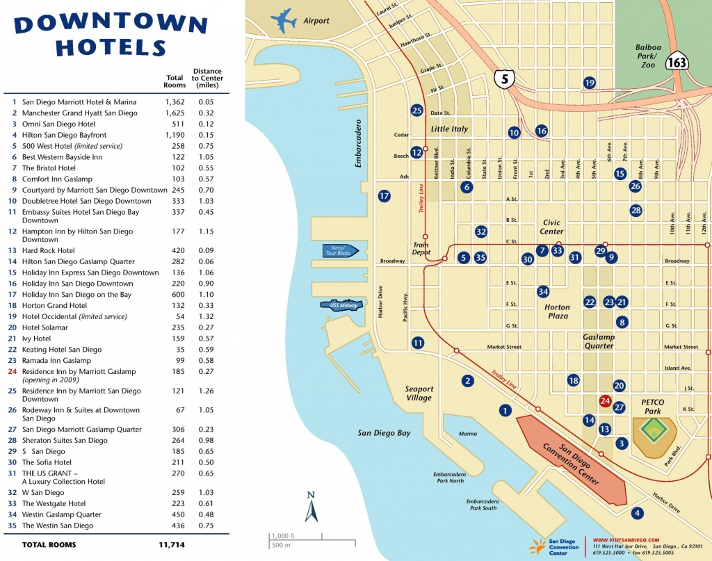 San Diego Maps   California, U.s.   Maps Of San Diego - City Map Of San Diego California