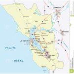 San Francisco Bay Area Stock Vector. Illustration Of Contra   48412345   San Francisco Bay Area Map California