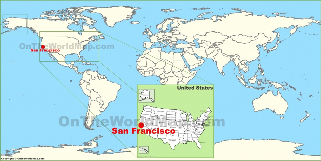 San Francisco Maps | California, U.s. | Maps Of San Francisco - Where Is San Francisco California On Map