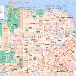San Francisco Maps   Top Tourist Attractions   Free, Printable City   Printable Street Maps Free