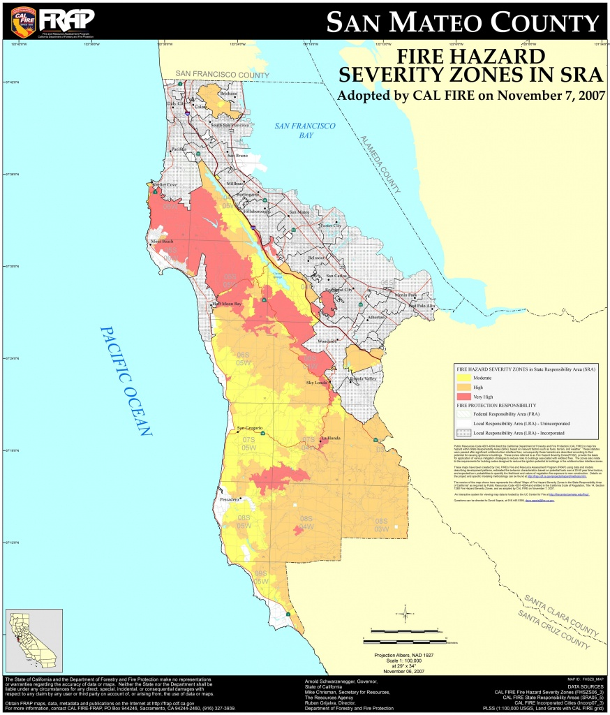 San Mateo County Cities Map And Travel Information | Download Free - San Mateo California Map