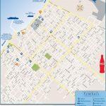 San Miguel De Cozumel Tourist Map   Printable Map Of Cozumel Mexico