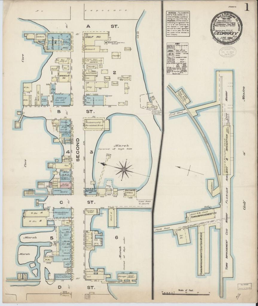 Sanborn Maps, Florida | Library Of Congress - Brooksville Florida Map