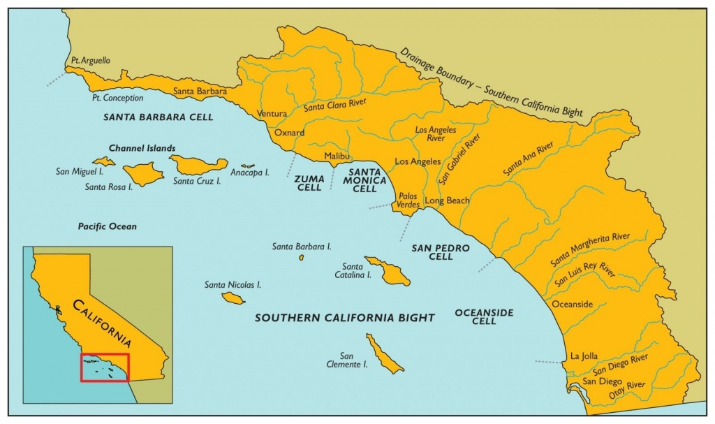 Sand Movement Maps Of California Southern California Beach Map Photo - Map Of Southern California Beaches