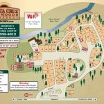 Santa Cruz Redwoods Rv Resort In Felton, Ca 95018   California Rv Resorts Map