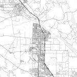 Santa Maria, California   Area Map   Light | Hebstreits Sketches   Santa Maria California Map