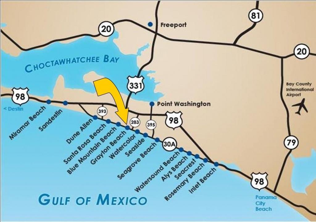 Santa Rosa Beach Florida |  Santa Rosa Beach Fl 32459 Gulf - Where Is Seagrove Beach Florida On A Map