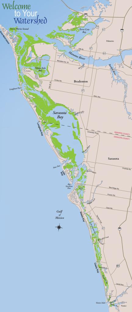 Sarasota Bay – Sarasota Bay Estuary Program - Casey Key Florida Map
