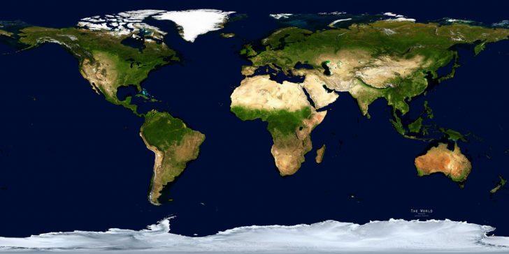 Printable Satellite Maps