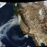 Satellite Photos: California Wildfire Smoke Reaches Detroit And   California Wildfire Satellite Map