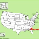 Savannah Maps | Georgia, U.s. | Maps Of Savannah   Printable Map Of Savannah
