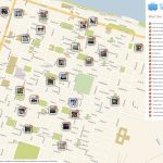 Savannah Printable Tourist Map In 2019 | Free Tourist Maps   Printable Map Of Savannah