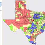 School District Demographic Trends   Texas School District Map By Region