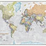 Scratch The World® Map Print   Detailed World Map Printable