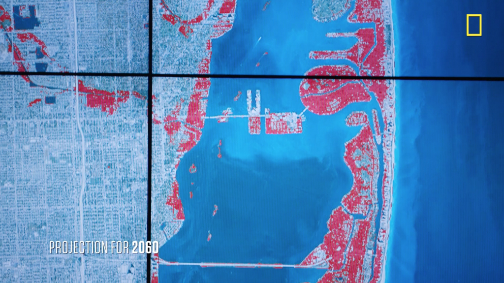 Sea Level Rise And Coastal Cities | National Geographic Society - Florida Sea Rise Map