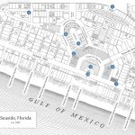Seaside Florida Map   Click Properties On Map To View Details | Maps   Map Of Seaside Florida Area