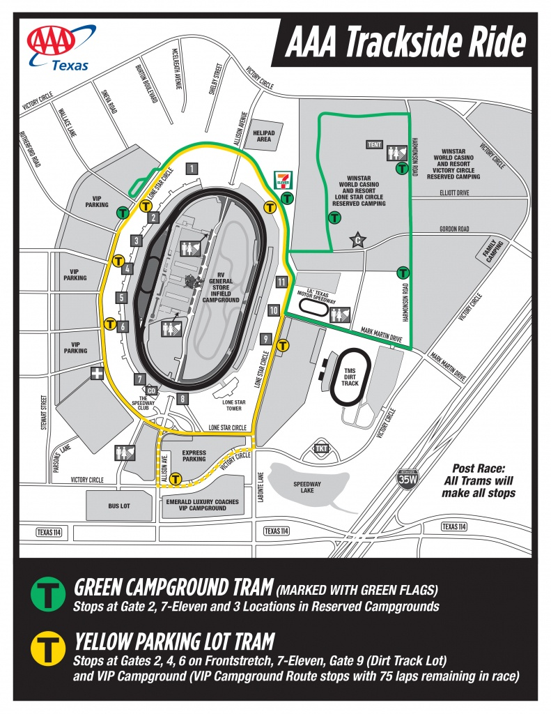 Seating Chart And Facility Maps - Aaa Texas Maps