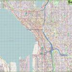 Seattle Maps | Washington, U.s. | Maps Of Seattle   Printable Map Of Seattle