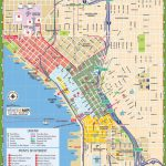Seattle Tourist Map   Printable Map Of Seattle