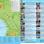 Seattle Tourist Map   Tourist Map Of Seattle (Washington   Usa)   Seattle Tourist Map Printable