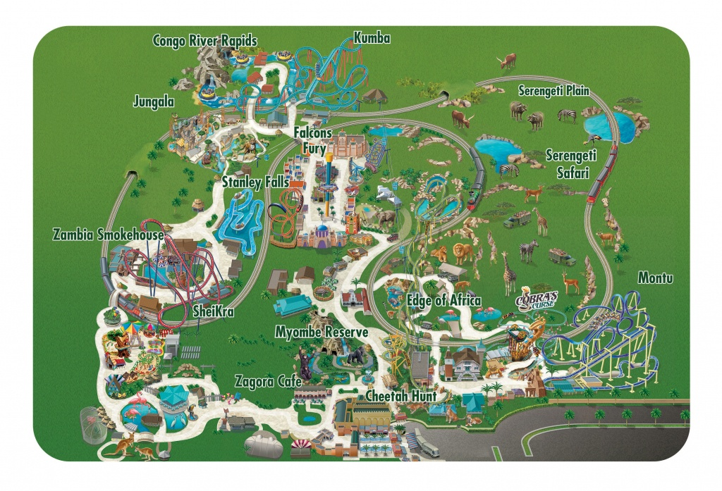 Seaworld Parks & Entertainment | Know Before You Go | Busch Gardens - Busch Gardens Florida Map
