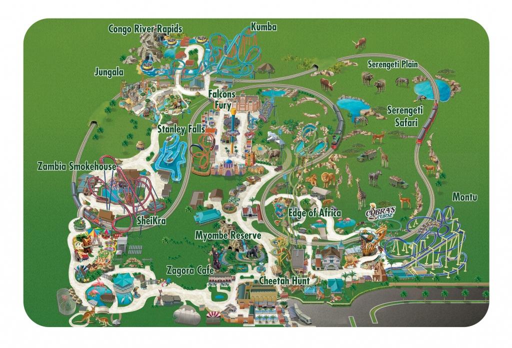 Seaworld Parks & Entertainment | Know Before You Go | Busch Gardens - Florida Busch Gardens Map