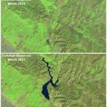 See California Reservoirs Fill Up In These Before And After Images   California Reservoirs Map
