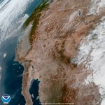 See What California Wildfire Smoke Looks Like From Space | Time   California Wildfire Satellite Map