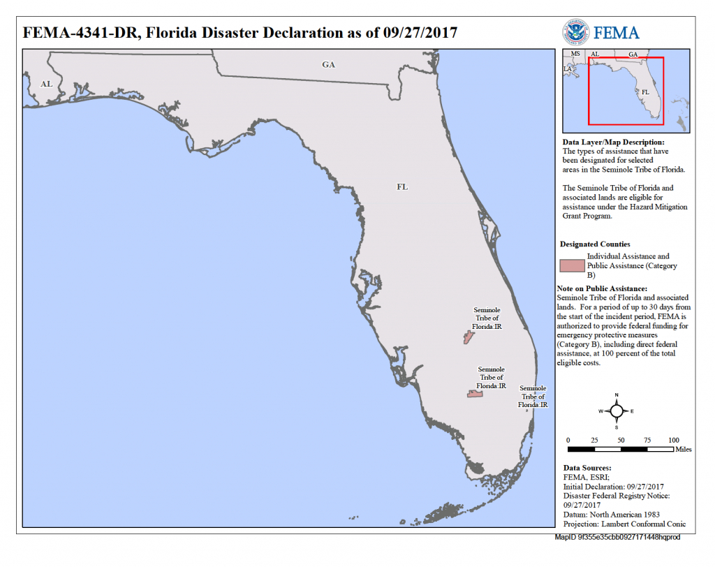 Seminole Tribe Of Florida Hurricane Irma - Seminole Tribe Of Florida - Seminole Florida Map