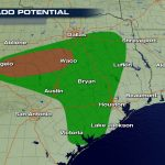 Severe Storms, Tornadoes, And Flooding Threats In Texas   Weathernation   Waco Texas Weather Map