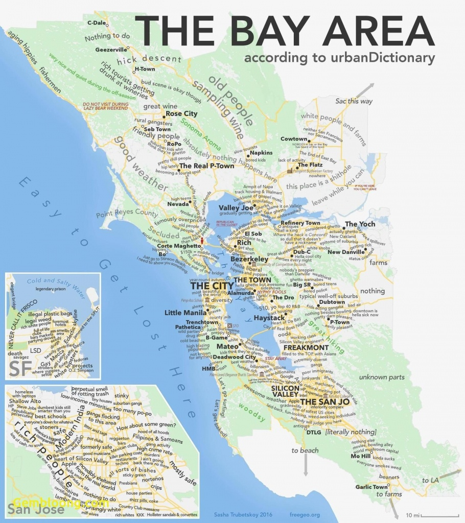 Sf Bay Area Map Google San Francisco California New As Promised The - San Francisco Bay Area Map California