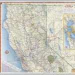 Shell Highway Map Of California (Northern Portion).   David Rumsey   Map Of Northern California