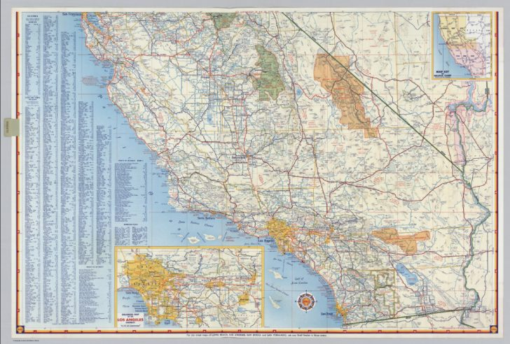 Buy Map Of California
