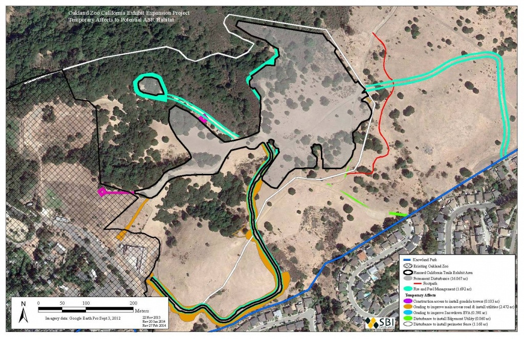 Sierra Club Expresses Serious Concerns About Zoo Expansion Location - Oakland Zoo California Trail Map