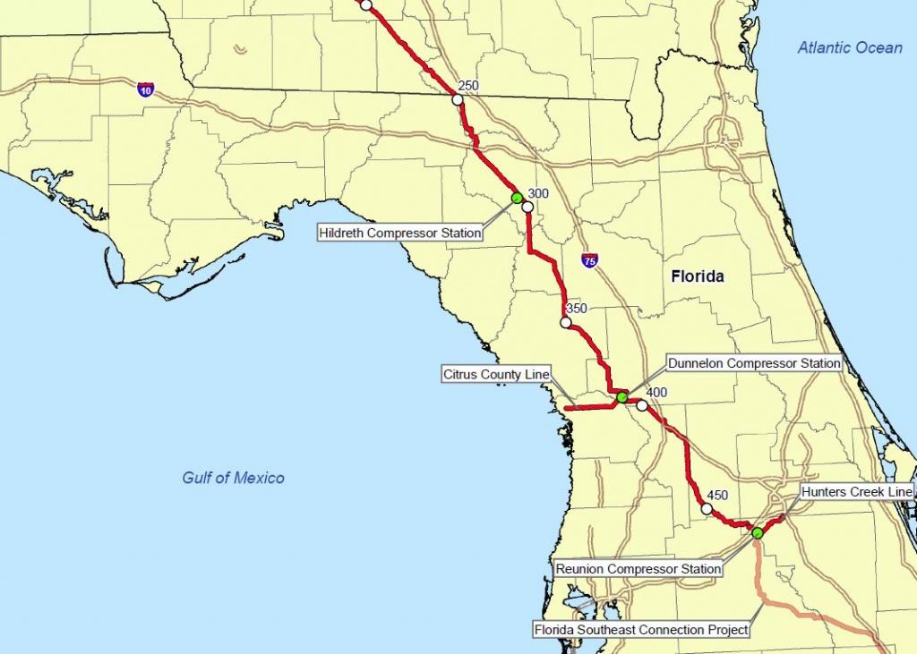 Sierra Club Florida News: 2015 - Gas Availability Map Florida
