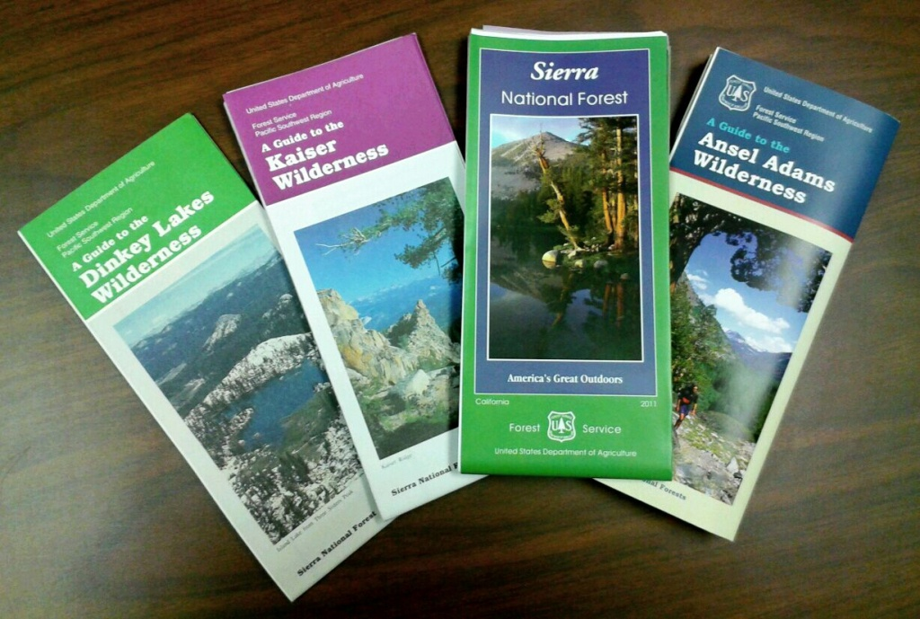 Sierra National Forest - Maps & Publications - California Forest Service Maps