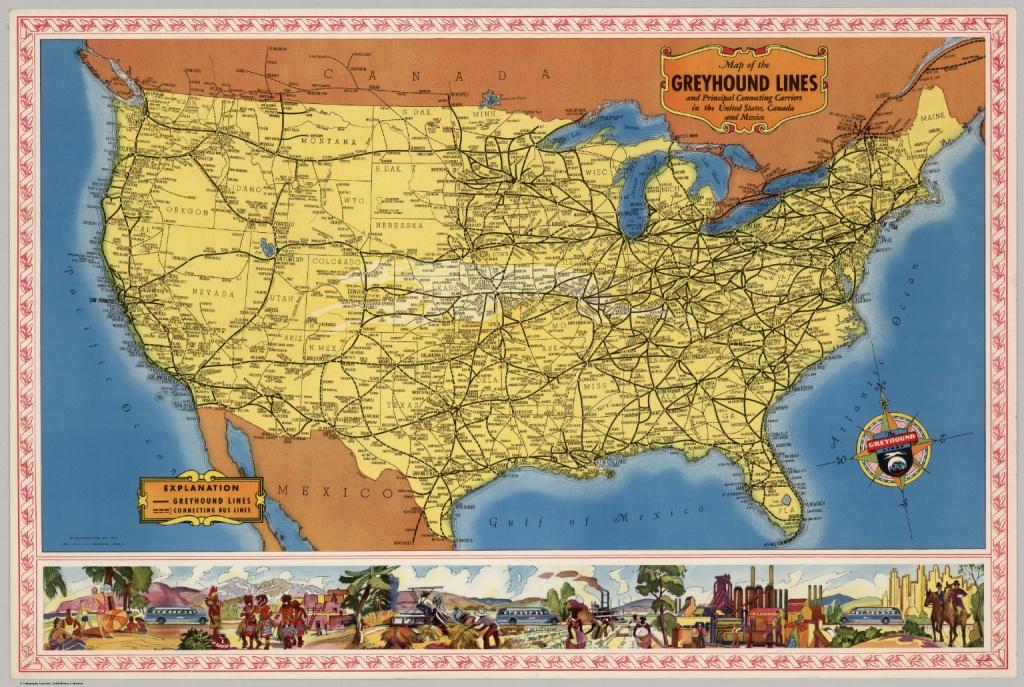 Simple Greyhound Canada Map - Diamant-Ltd - Greyhound Route Map California
