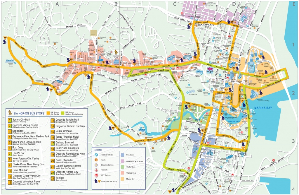 Singapore Map - Detailed City And Metro Maps Of Singapore For - Printable Map Of Singapore