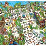 Six Flags Great Adventure & Wild Safari Map. | Vacations & Traveling   Six Flags Great America Printable Park Map