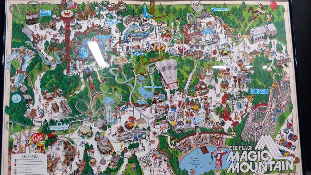 Six Flags Magic Mountain Map From Imgur 3 - Ameliabd - Six Flags Map - Six Flags Map California 2018