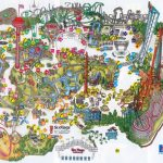 Six Flags Magic Mountain Map. | Valencia, Ca In 2019 | Theme Park   Six Flags Great America Printable Park Map