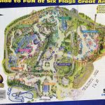 Six Flags Map Usa At Great America Park Roundtripticket Me And 6   Six Flags Great America Printable Park Map