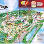 Six Flags Over Texas   2015 Park Map   Six Flags Over Texas Map