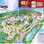 Six Flags Over Texas Map | Sitedesignco   Six Flags Fiesta Texas Map 2018